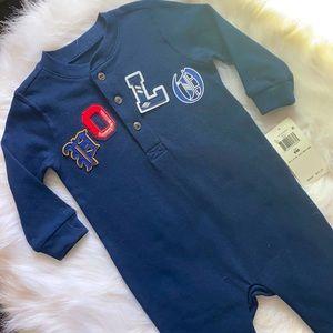 Polo Baby Onesie - Rare Find